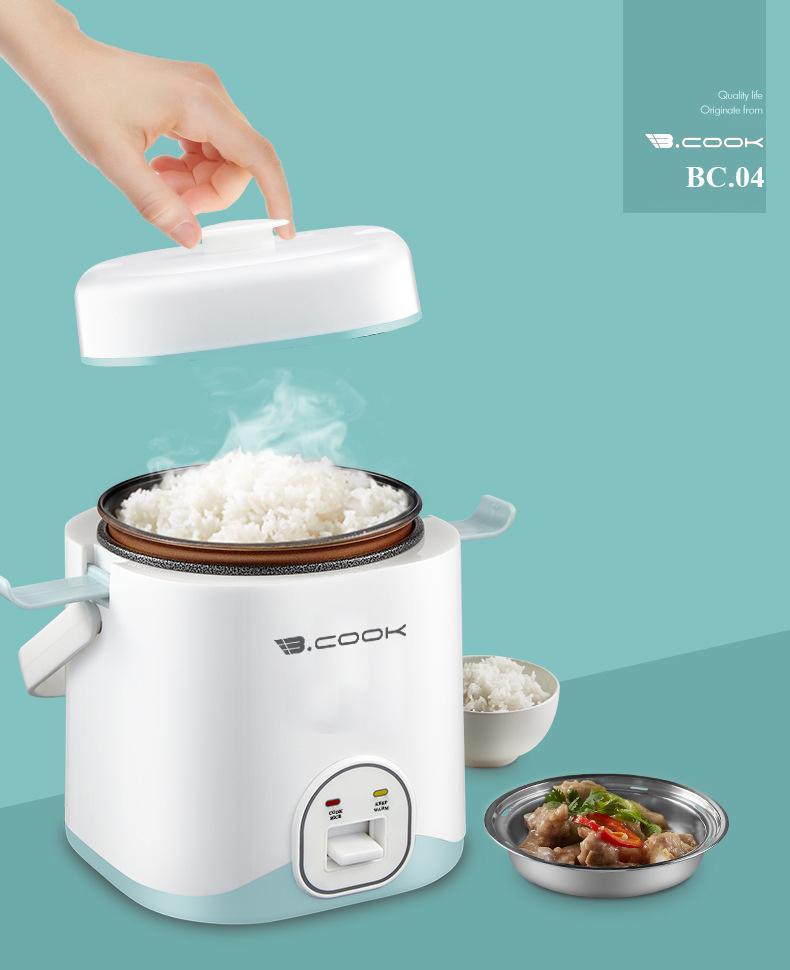 Nồi cơm điện mini - Nồi nấu nhanh đa năng Bcook - Hàng chính hãng