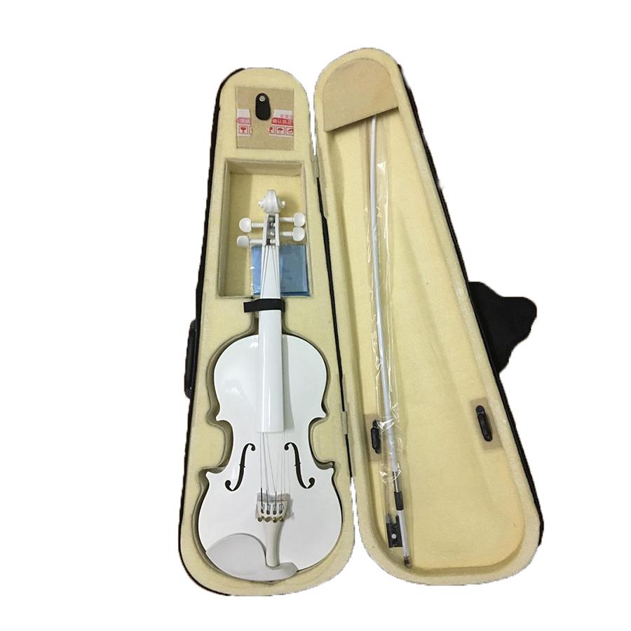 Đàn Violin -15W size 4/4 màu trắng