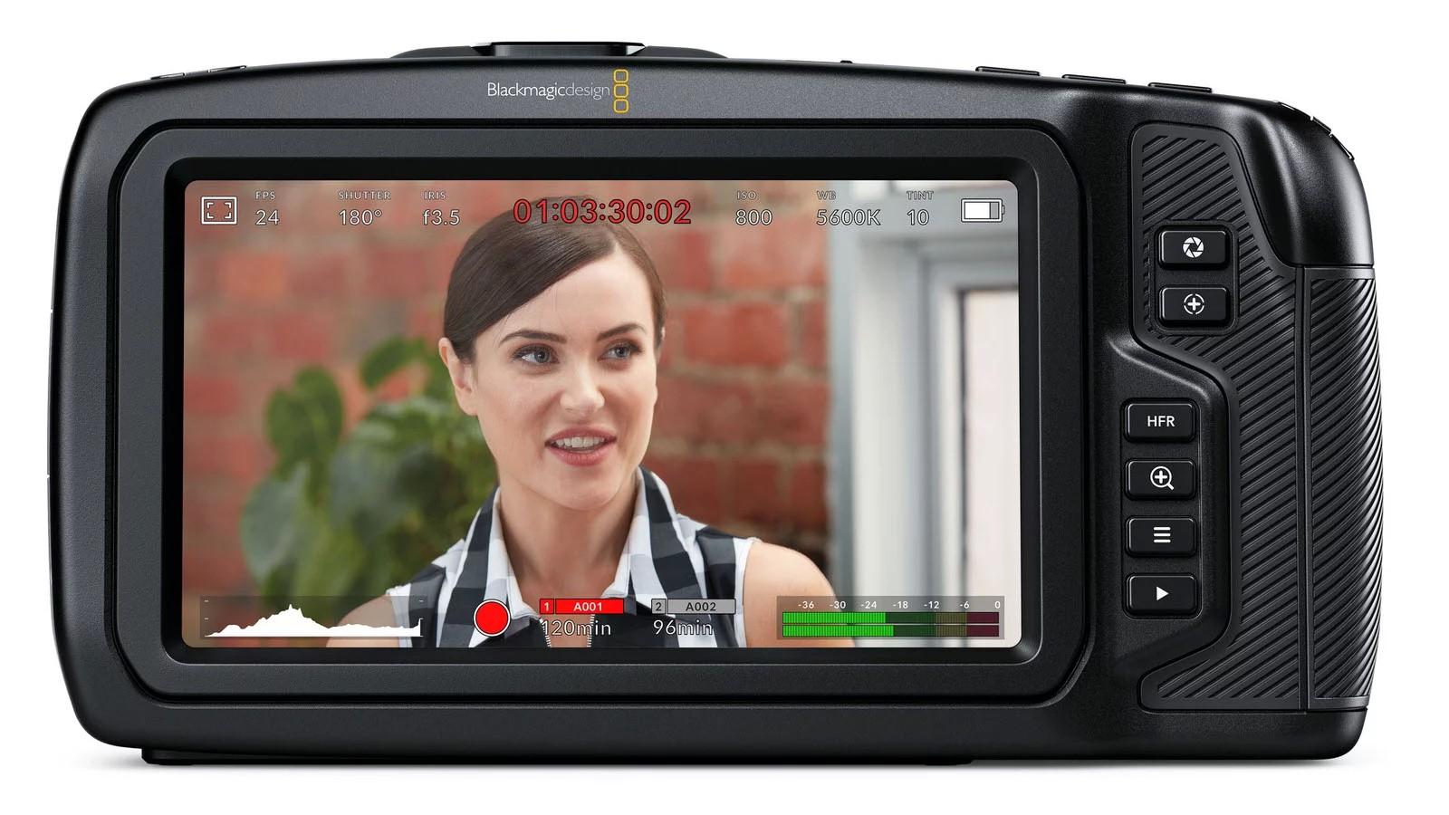 Máy quay Black Magic pocket cinema 4k - hàng nhập khẩu
