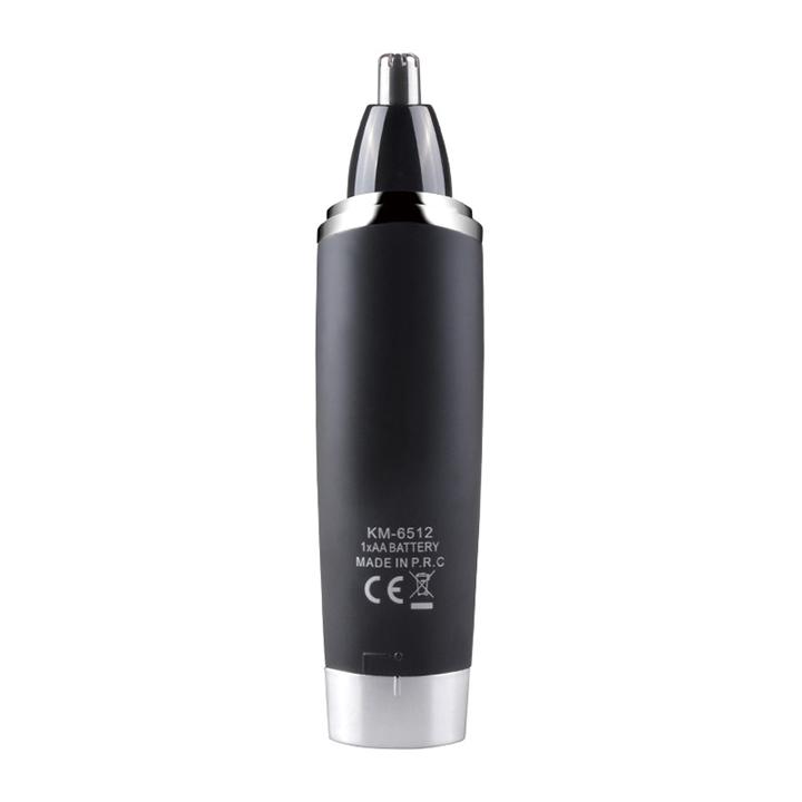 Máy tỉa lông mũi KM-6512 sử dụng pin AA