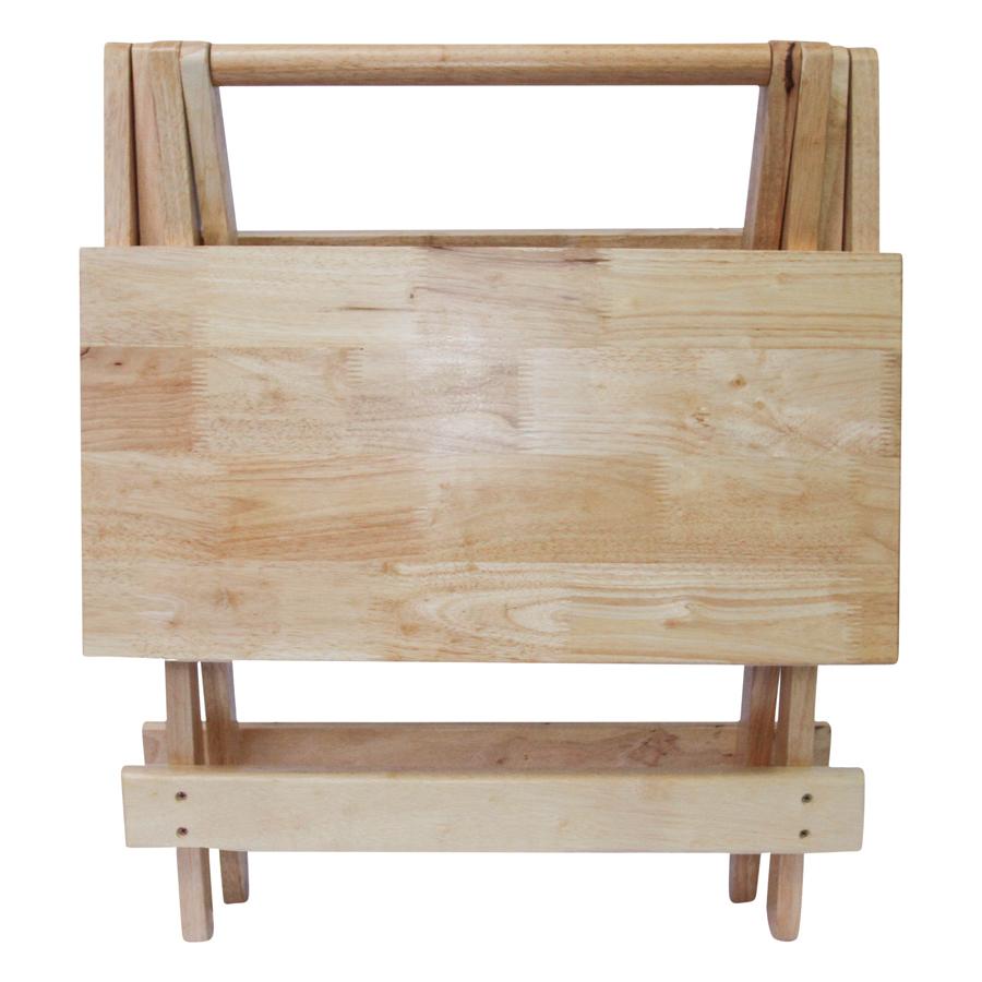 Bàn Xếp Mặt Phẳng Phương Lâm (60 x 60 cm) - Màu Tự Nhiên