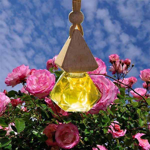 Tinh dầu treo xe hương hoa hồng 100% tự nhiên HCN