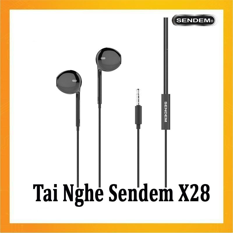Tai nghe nhét tai Cao cấp Sendem X28 - Hàng Nhập Khẩu