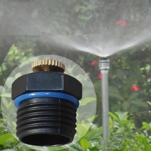Combo 20 béc tưới cây phun mưa chỉnh lưu lượng ren 21
