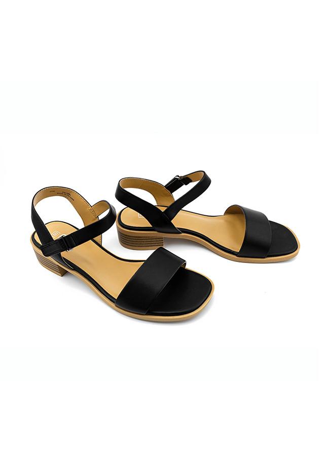 Giày Sandal Nữ PABNO PN13001, Quai Ngang Cao 3cm , Da Bền Đẹp, Giày Thời Trang Công Sở Chính Hãng, Sang Trọng