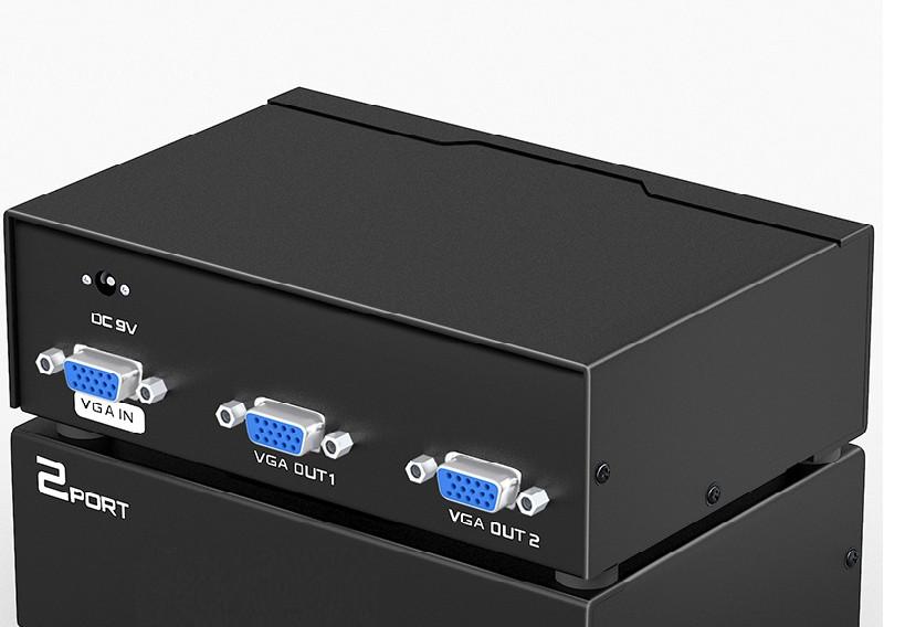 Multi VGA 1-2  Unitek U-8706  - HÀNG CHÍNH HÃNG