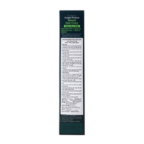 Thuốc nhuộm tóc phủ bạc, chỉ sử dụng trong salon chuyên nghiệp Livegain Premium Speed Hair Color 120g