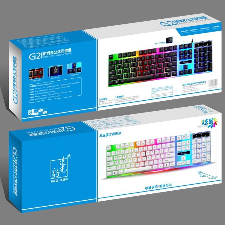 [TẶNG LÓT LG] Bàn phím G21 HN LED giả cơ game chuyên dụng + LÓT LG