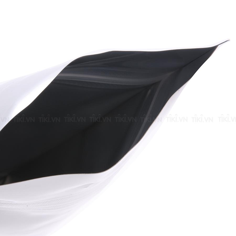 Túi zip hai mặt bạc đáy đứng 12x19cm (1kg)