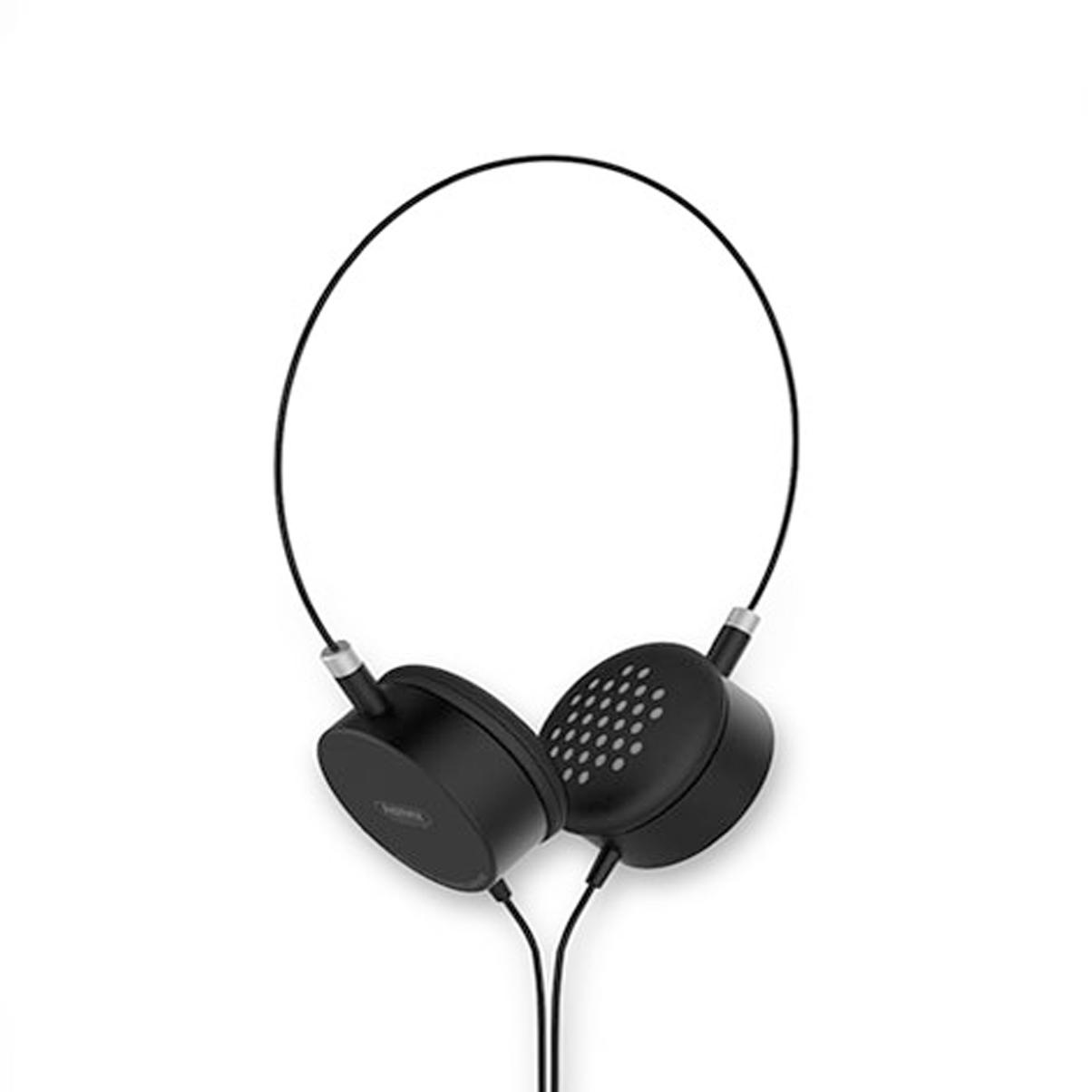 Tai Nghe Headphone Có Dây Remax RM-910 - Tặng Gía Đỡ Điện Thoại-Hàng Chính Hãng - đen