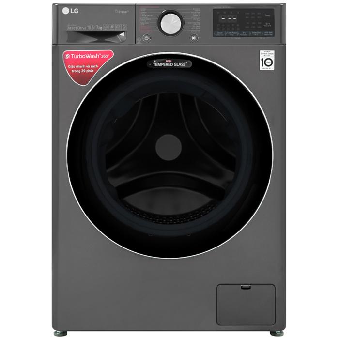 Máy giặt sấy LG Inverter 10.5 kg FV1450H2B - Chỉ giao Hà Nội