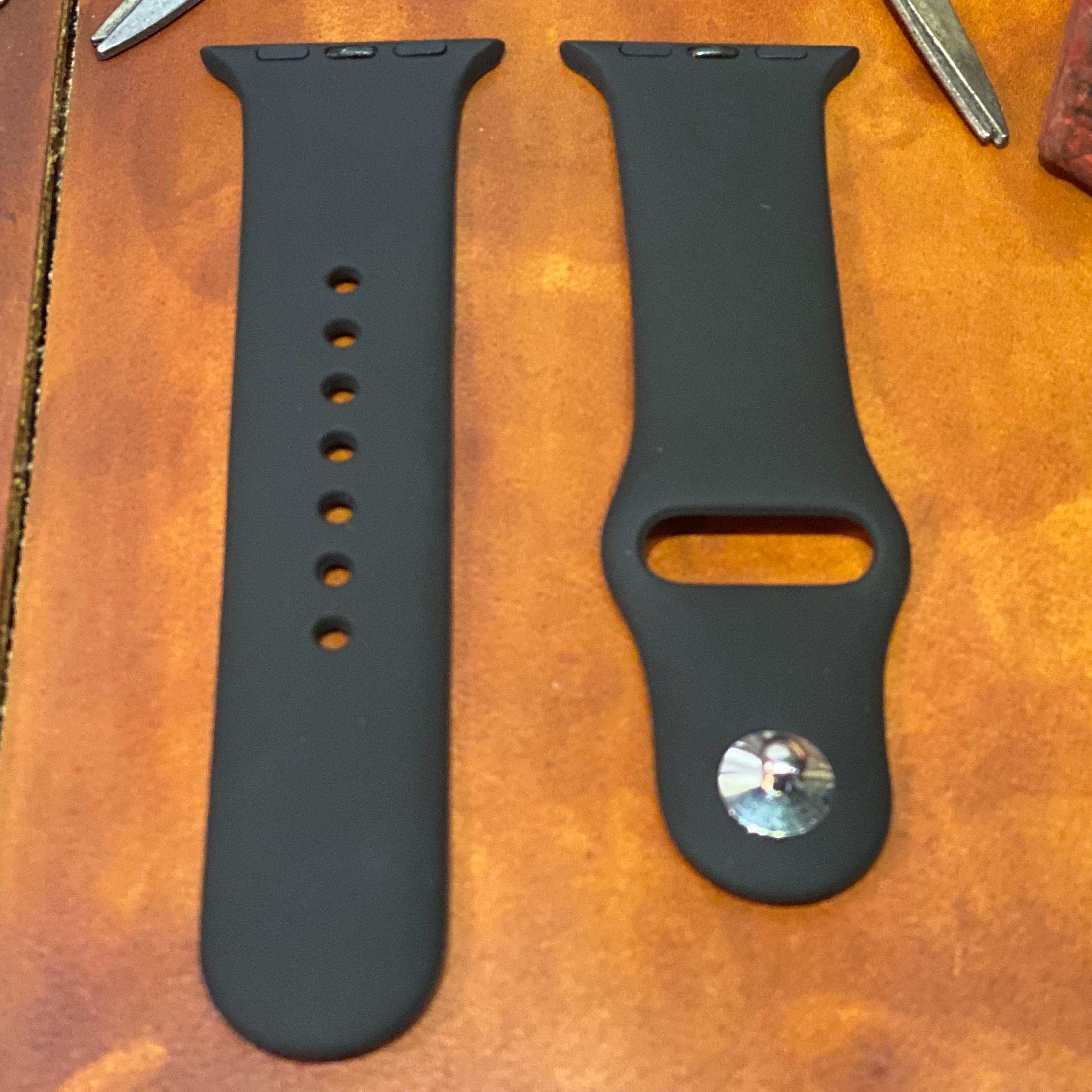 Dây đồng hồ silicon cho apple watch nhiều màu chống bẩn đẹp mắt