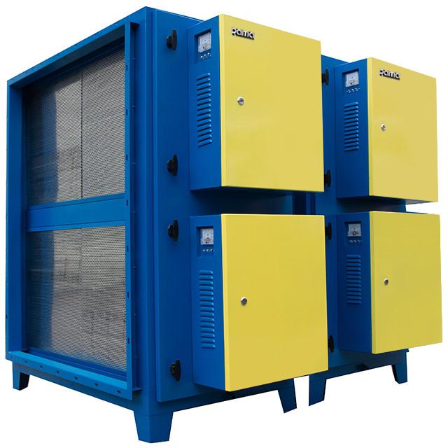 Máy xử lý khói bụi công nghệ lọc tĩnh điện 16000 m3/h cao cấp Rama RS16000 - Hàng Chính Hãng