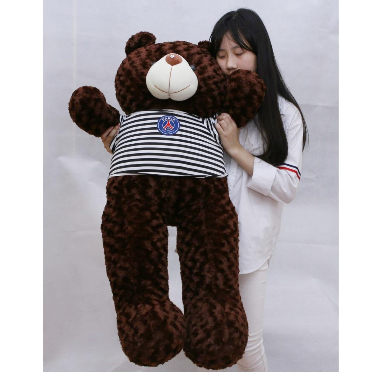 Gấu bông gấu teddy Khổ vải 1m4 cao 1m2