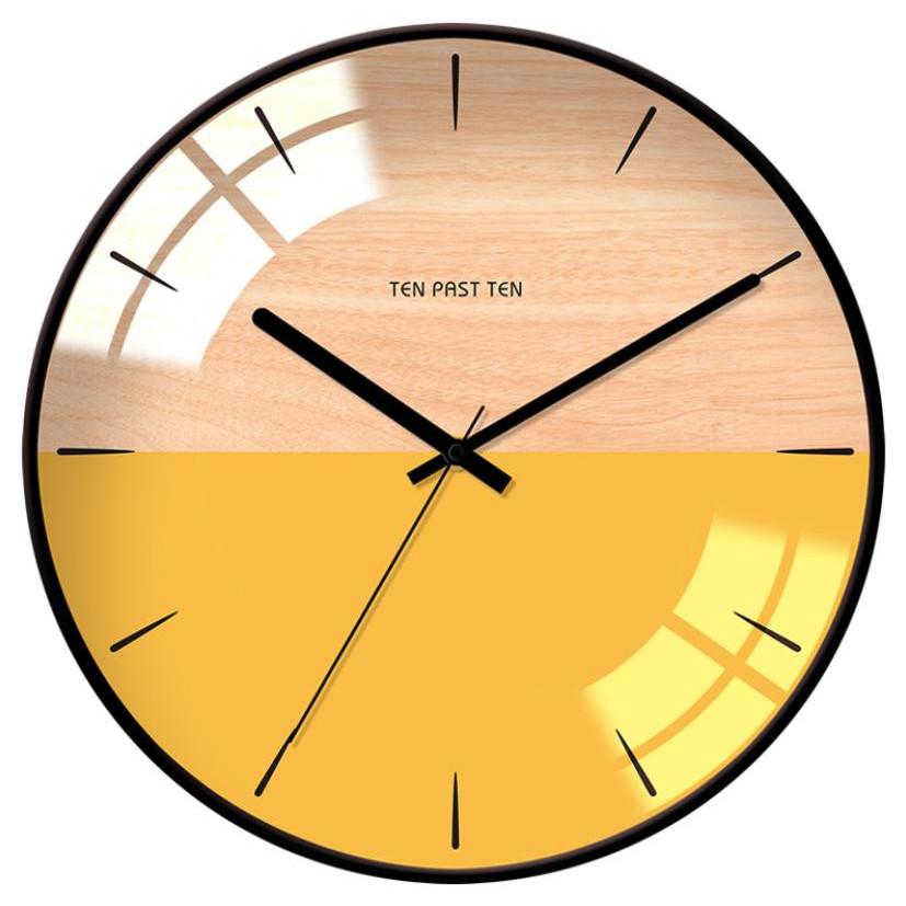 Đồng hồ treo tường trang trí phong cách Bắc Âu SI02