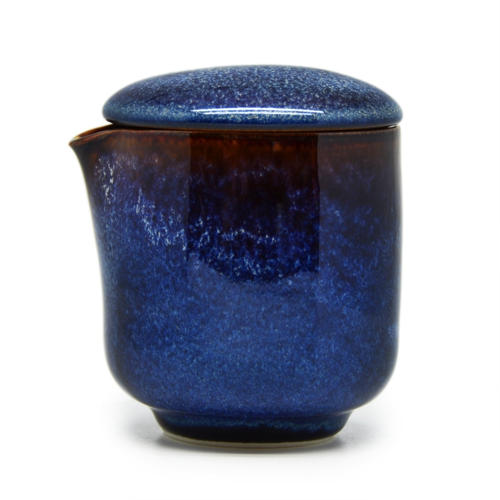 Cốc môi có nắp Đông Gia - xanh sóng biển 8094. Cup with lid