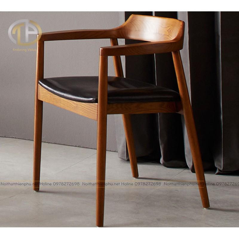 Ghế Hiroshima gỗ tần bì - ghế ăn, ghế cafe đẹp