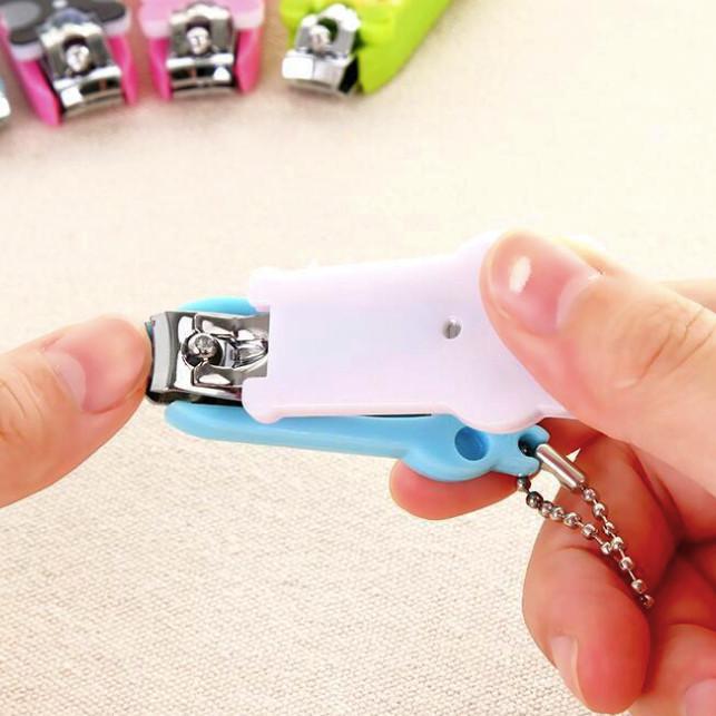 Combo 3 bấm cắt móng mini dạng móc khóa dễ thương