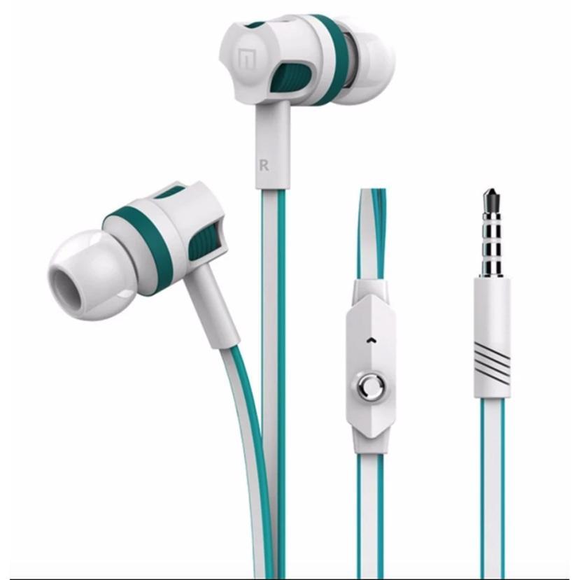 Tai nghe nhét tai Langsdom JM26 Super Bass cho android/iphone/ipad (Trắng) - Hàng Chính Hãng