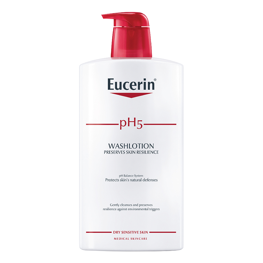 Sữa Tắm Cho Da Cơ Thể Nhạy Cảm Eucerin Ph5 Skin-Protection Washlotion (1L)