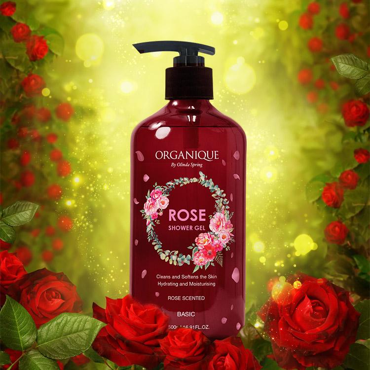 Sữa tắm hoa hồng Rose Shower Gel 500ml