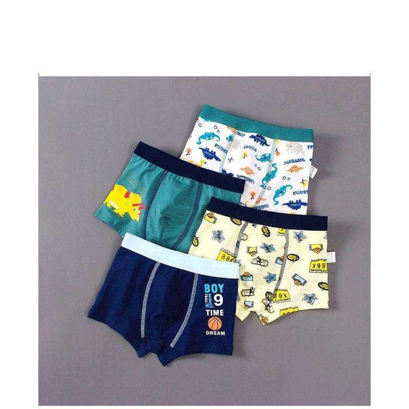 Set 4 quần xịp bé trai đủ size 7-45kg hàng xịn chất vải siêu đẹp
