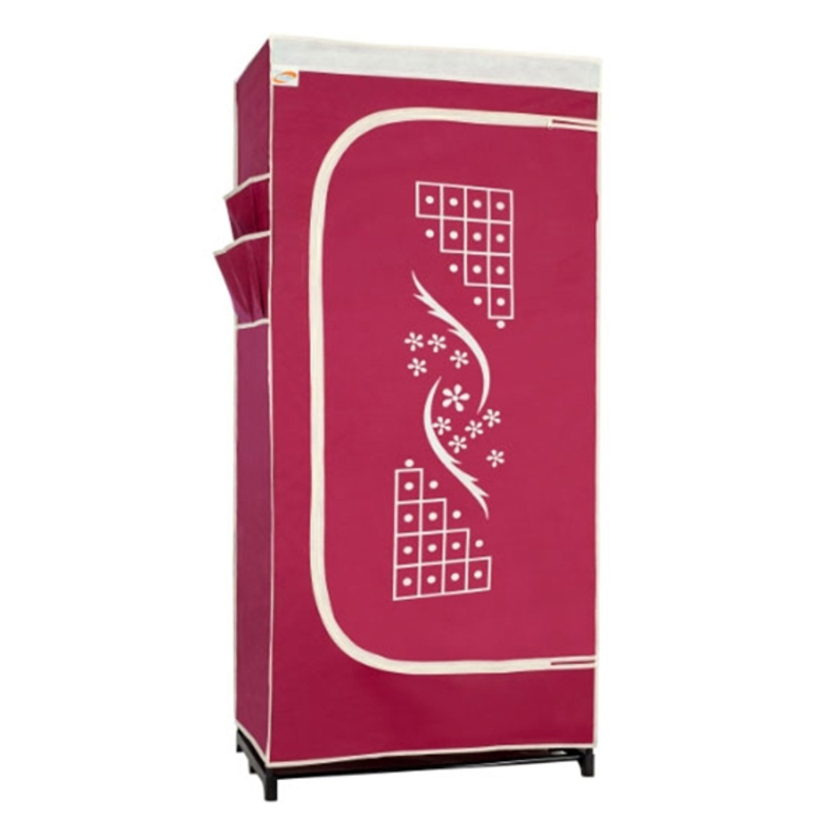 Tủ vải Thanh Long TVAI06 75 x 46 x 158 cm Giao màu ngẫu nhiên