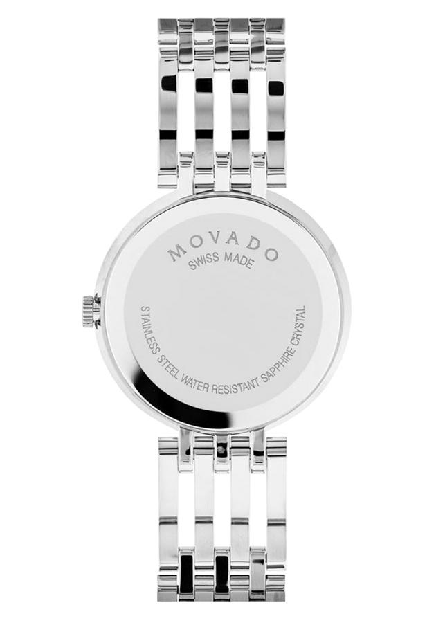 Đồng Hồ Nữ Dây Kim Loại Movado 0607051 (28mm) - Trắng