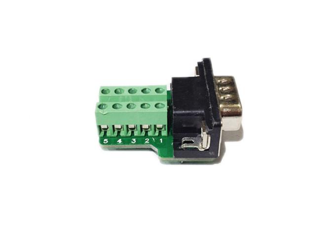 Đầu bấm DB9 (RS232) Male HD-Link