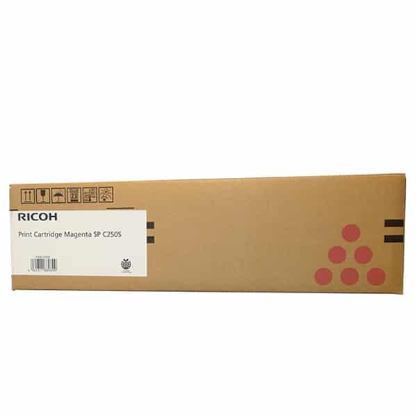 Mực Máy In Màu Ricoh SP C250/C260/C261 Cartridge 407549 Màu Đỏ ( Hàng Chính hãng )