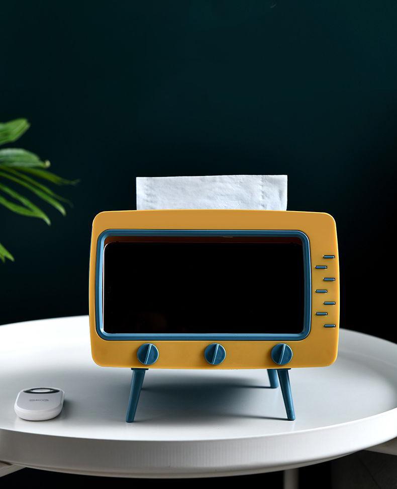 Hộp khăn giấy TV phong cách Hàn Quốc