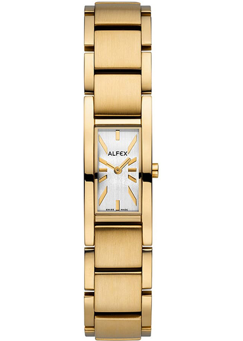 Đồng Hồ Nữ Dây PVD Màu Vàng Alfex 5631/668 (16 x 25 mm)
