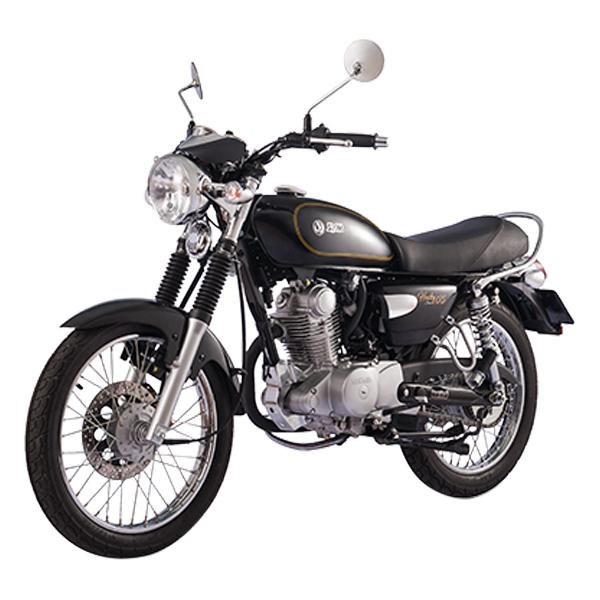 Xe Máy SYM Husky Classic 125 - Đen + Tặng Combo 4 Quà Tặng