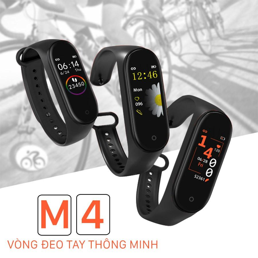 VÒNG TAY ĐỒNG HỒ THÔNG MINH M4 (FULL BOX)