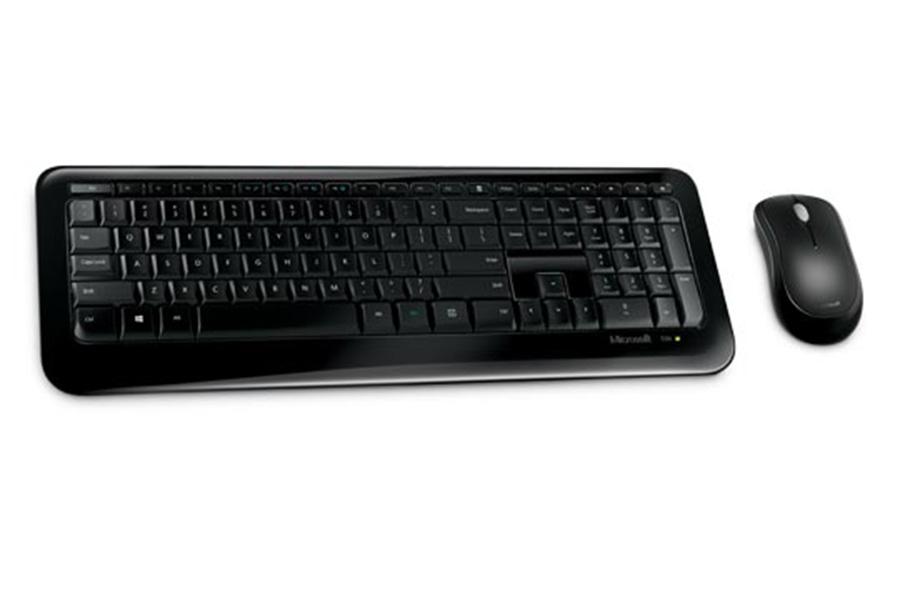Bộ bàn phím chuột không dây Microsoft Desktop 850 - Hàng chính hãng