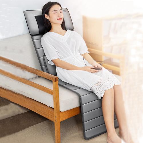Đệm Massage Toàn Thân Hồng Ngoại Vải Nhung Cao Cấp Giảm Đau Vai Gáy - Chống Nhức Mỏi | Nệm Massage hỗ trợ Trị Liệu Xung Điện Tần Số Thấp Kết Hợp Thảo Dược - Thư Giãn - Phòng Các Bệnh Về Xương Khớp - Hiệu Quả