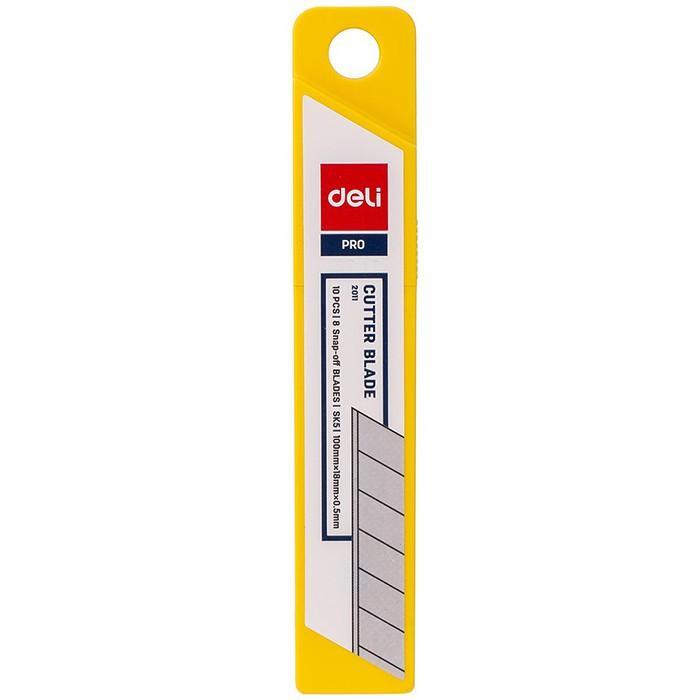 Lưỡi dao nhỏ Deli 2012 ( 1 hộp /10 lưỡi )