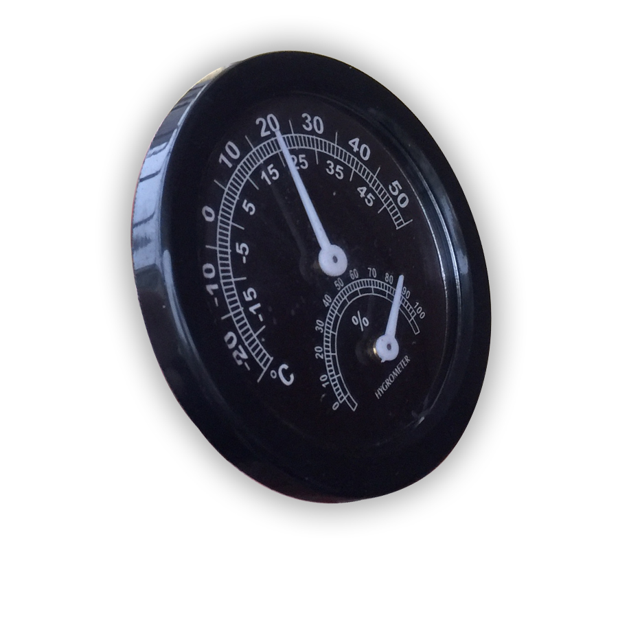 Dụng cụ đo nhiệt độ, độ ẩm gắn tường