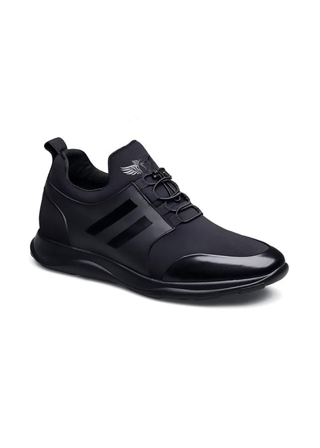 Giày Sneaker Nam Tăng Chiều Cao GC103 - Đen