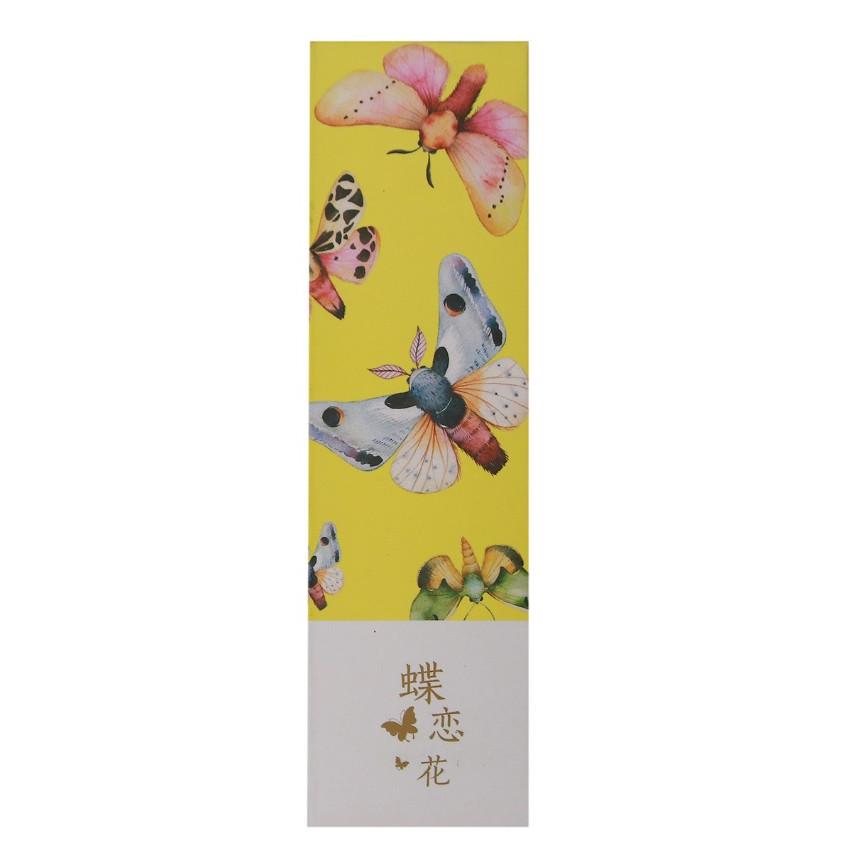 Hộp 30 Bookmark Đánh Dấu Sách Hồ Điệp