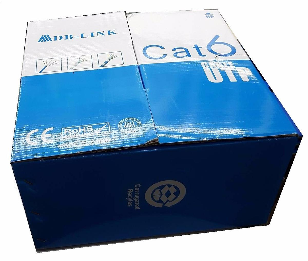 Cuộn Dây mạng Cat 6e ADB-Link màu xanh 305 mét - Hàng Chính Hãng