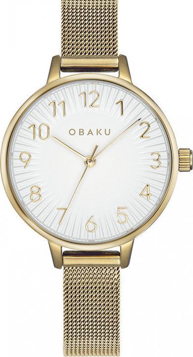 Đồng hồ đeo tay hiệu Obaku V237LXGIMG