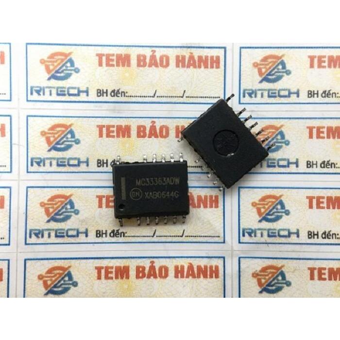 MC33363ADW, MC33363BDW, MC33363 IC nguồn SOP-13