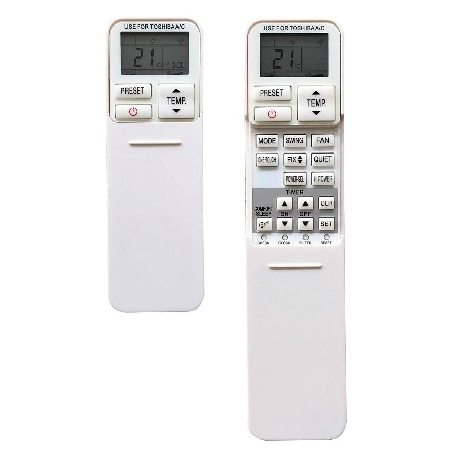 Remote Điều Khiển Dành Cho Máy Lạnh, Điều Hòa Toshiba Inverter RAS-H10G2KCV, RAS- H10PKCVG