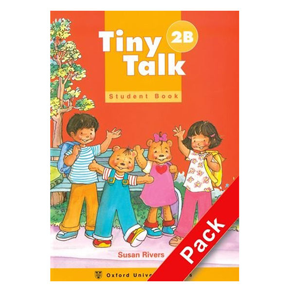 Tiny Talk 2: Pack (B) (Student Book and Audio CD)
