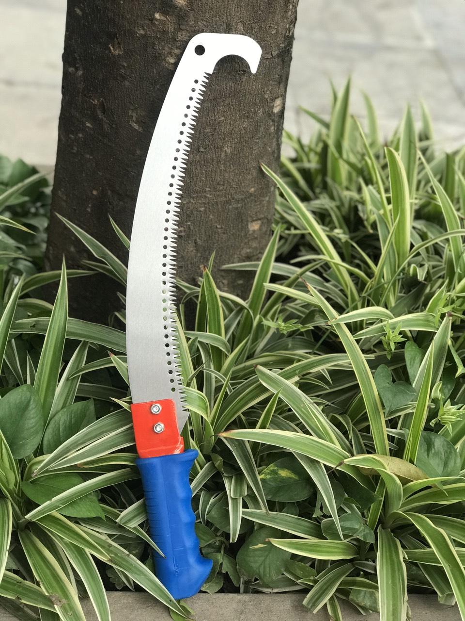Cưa cành cây lưỡi móc 350mm chính hãng C-MART A0093
