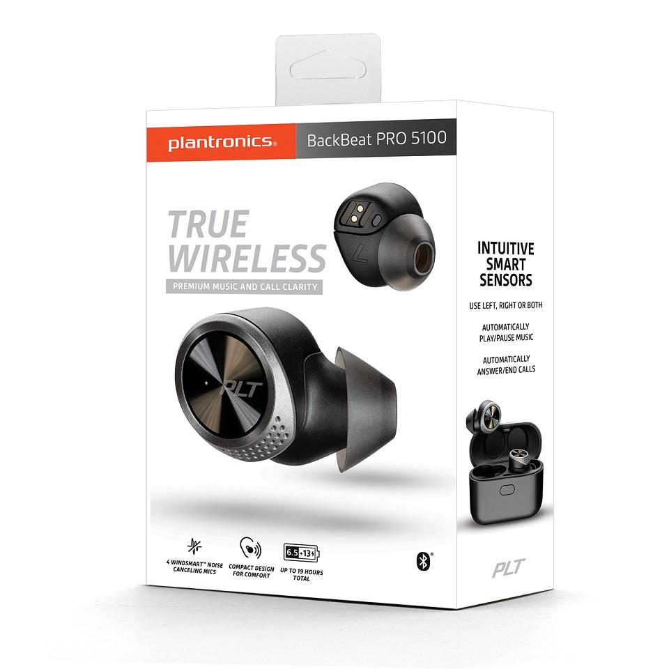 Tai Nghe Plantronics True Wireless BackBeat Pro 5100 - Hàng Chính Hãng