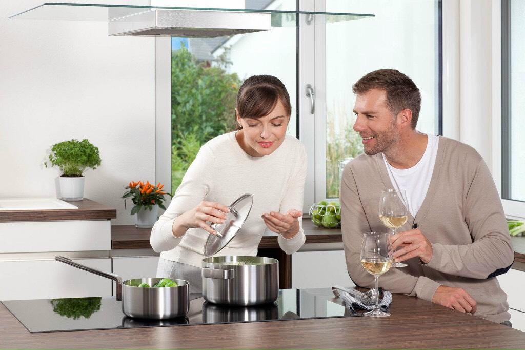 Bếp âm- bếp đôi điện từ, tiện lợi, tiết kiệm điện năng, an toàn, đẳng cấp sang trọng