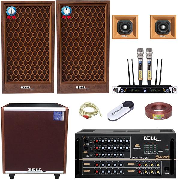Trọn bộ dàn âm thanh karaoke KM - 8200 BellPlus (hàng chính hãng )