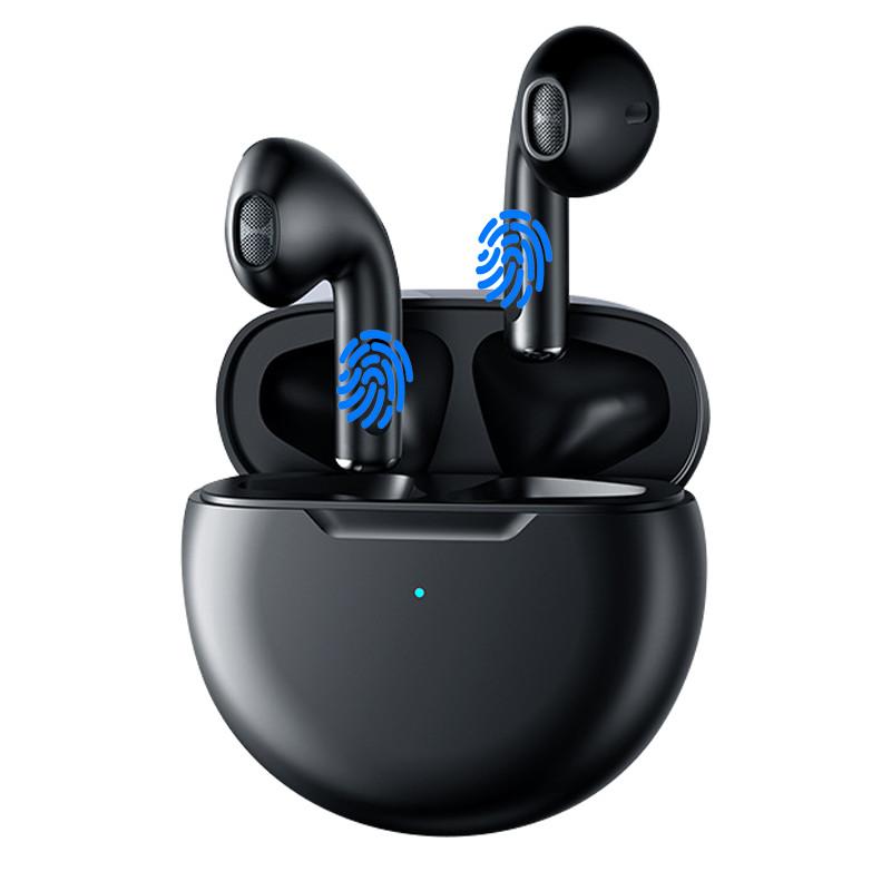 Tai Nghe Bluetooth Không Dây Kết Nối Bluetooth Nhanh Chóng Cảm Ứng Vân Tay Thông Minh - Hàng Chính Hãng